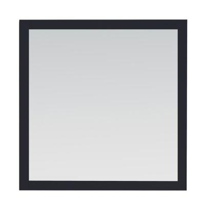 34.00 in. W x 34.00 in. H Framed Rectangular  Bathroom Vanity Mirror in Midnight Blue