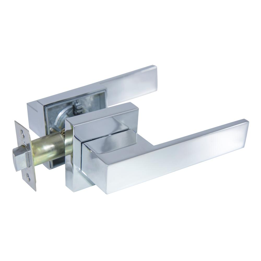Senna Premium Bright Chrome Passage Hall/Closet Door Lever