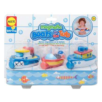 Rub a Dub Magnetic Boats in the Tub