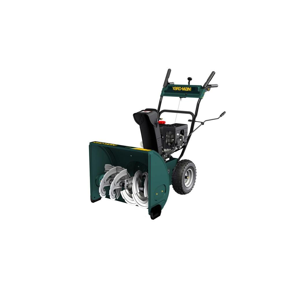 Yard-Man 24 in. Two-Stage Electric Start Gas Snow Blower-DISCONTINUED