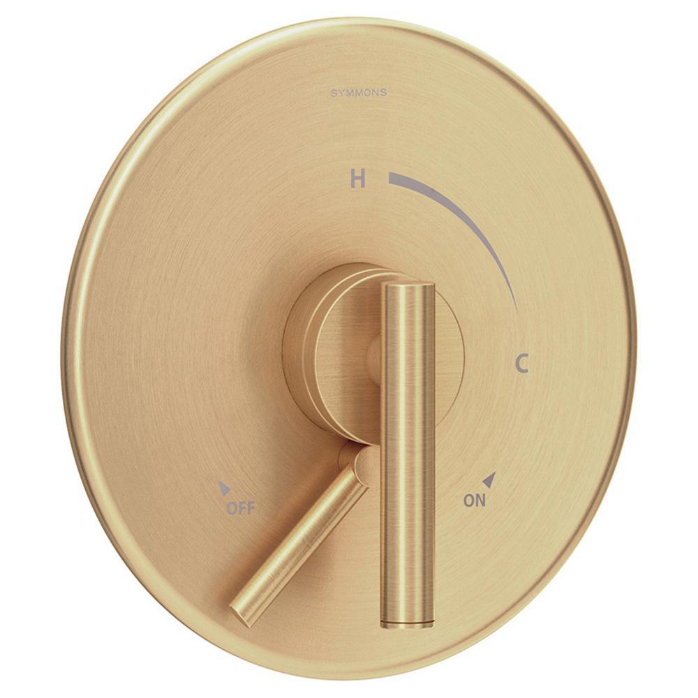 Dia Pressure Balancing Shower Valve in Brushed Bronze