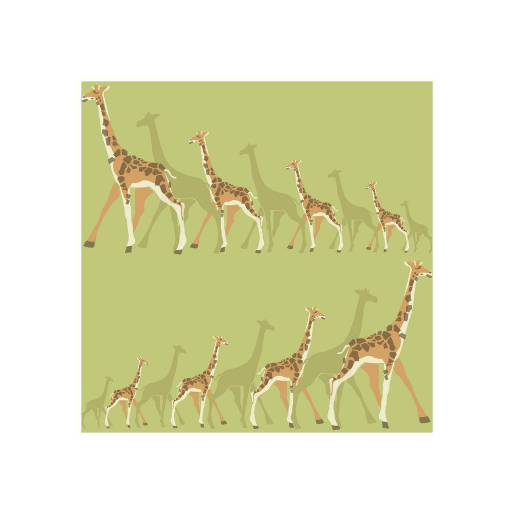 DwellStudio Baby and Kids Giraffes Wallpaper