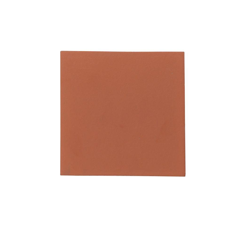 Daltile Quarry Tile Red Blaze 6 In X 6 In Ceramic Floor