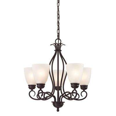 Chatham 5-Light Oil-Rubbed Bronze Chandelier