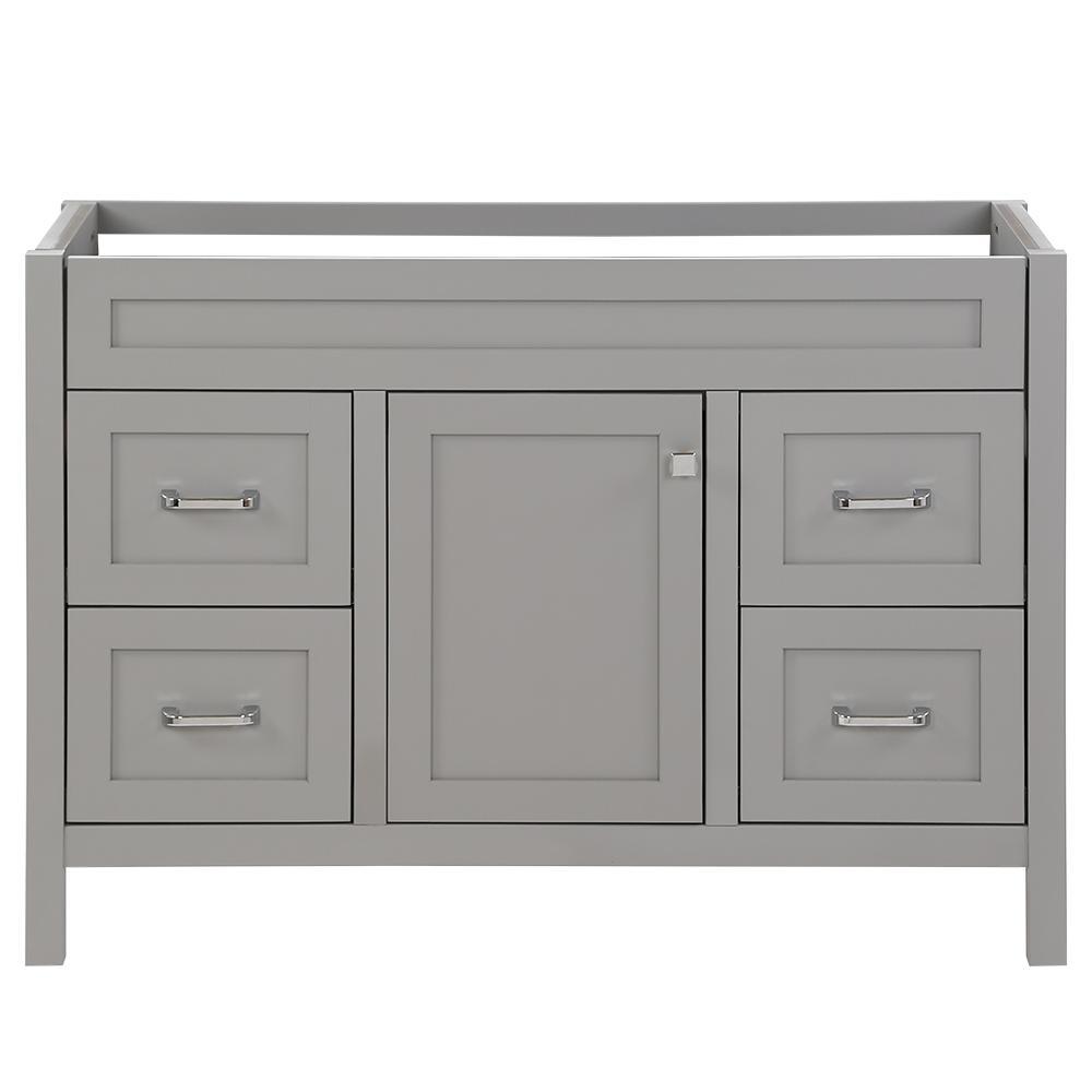 Maywell 48 in. W x 18.5 in. D x 34.4 in. H Bath Vanity Cabinet Only in Sterling Gray
