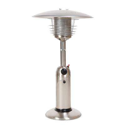 11,000 BTU Stainless Steel Table Top Gas Patio Heater