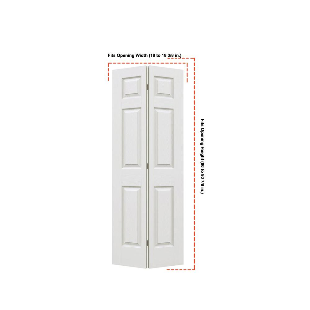 Jeld Wen 18 In X 80 Colonist Primed Textured Molded Composite Mdf