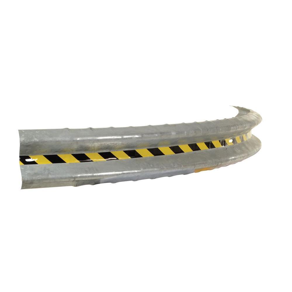 Vestil 120 in. Curved Guardrail