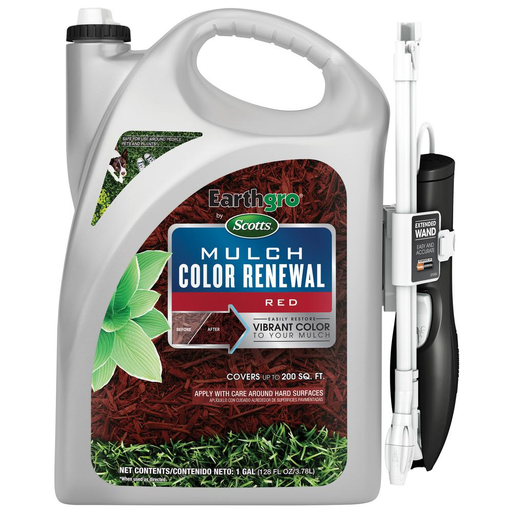 Earthgro 1 Gal By Scotts Red Mulch Color Renewal