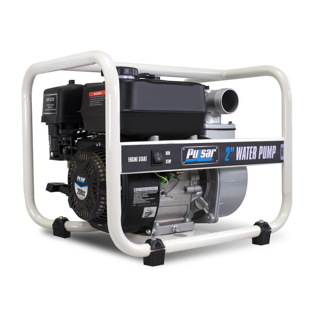 6.5 HP Gas Powered 2 in. Semi Trash Water Pump