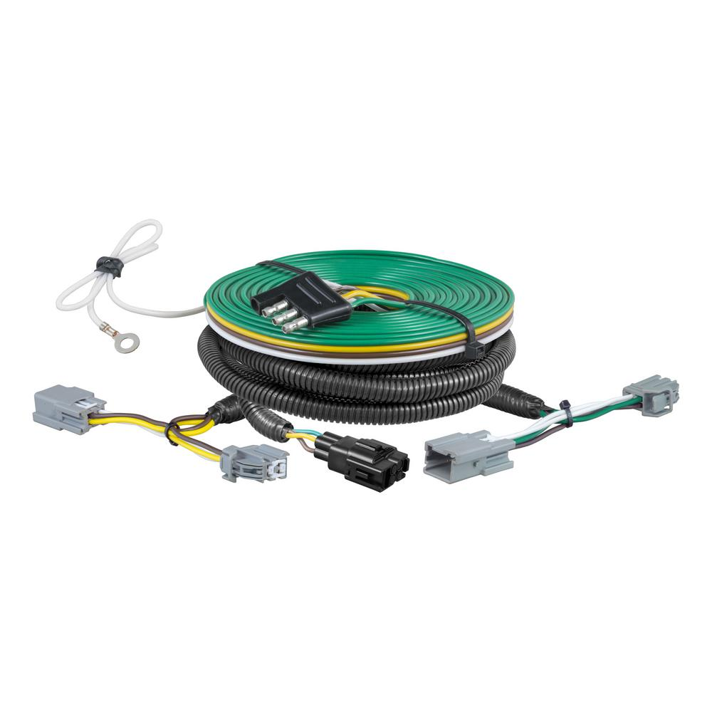 [TVPR_3874]  CURT Custom Towed-Vehicle RV Wiring Harness, Select Ford Fiesta-58977 - The  Home Depot | Ford Wiring Harness Parts |  | Home Depot