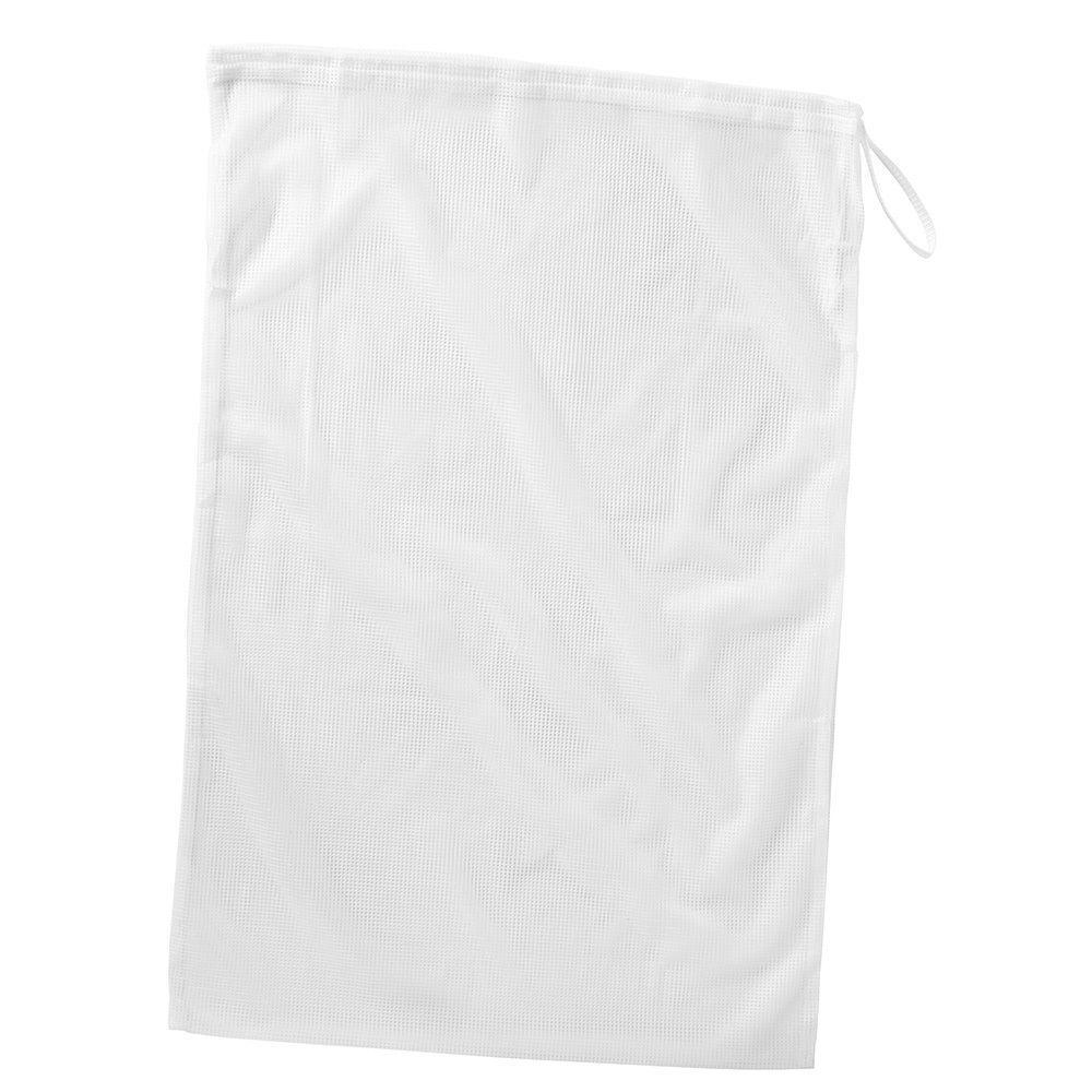Whitmor White Mesh Laundry Bag 6154 111 Pdq The Home Depot