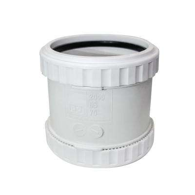 PPI 2 in. PVC/ABS SoundProof DWV Push Fit Pipe Fitting Polypropylene Coupling (4-Pack)