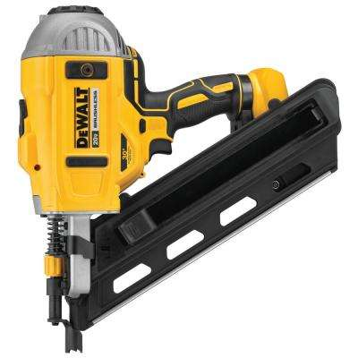 20-Volt MAX XR Lithium-Ion Cordless Brushless 2-Speed 30° Paper Collated Framing Nailer (Tool-Only)