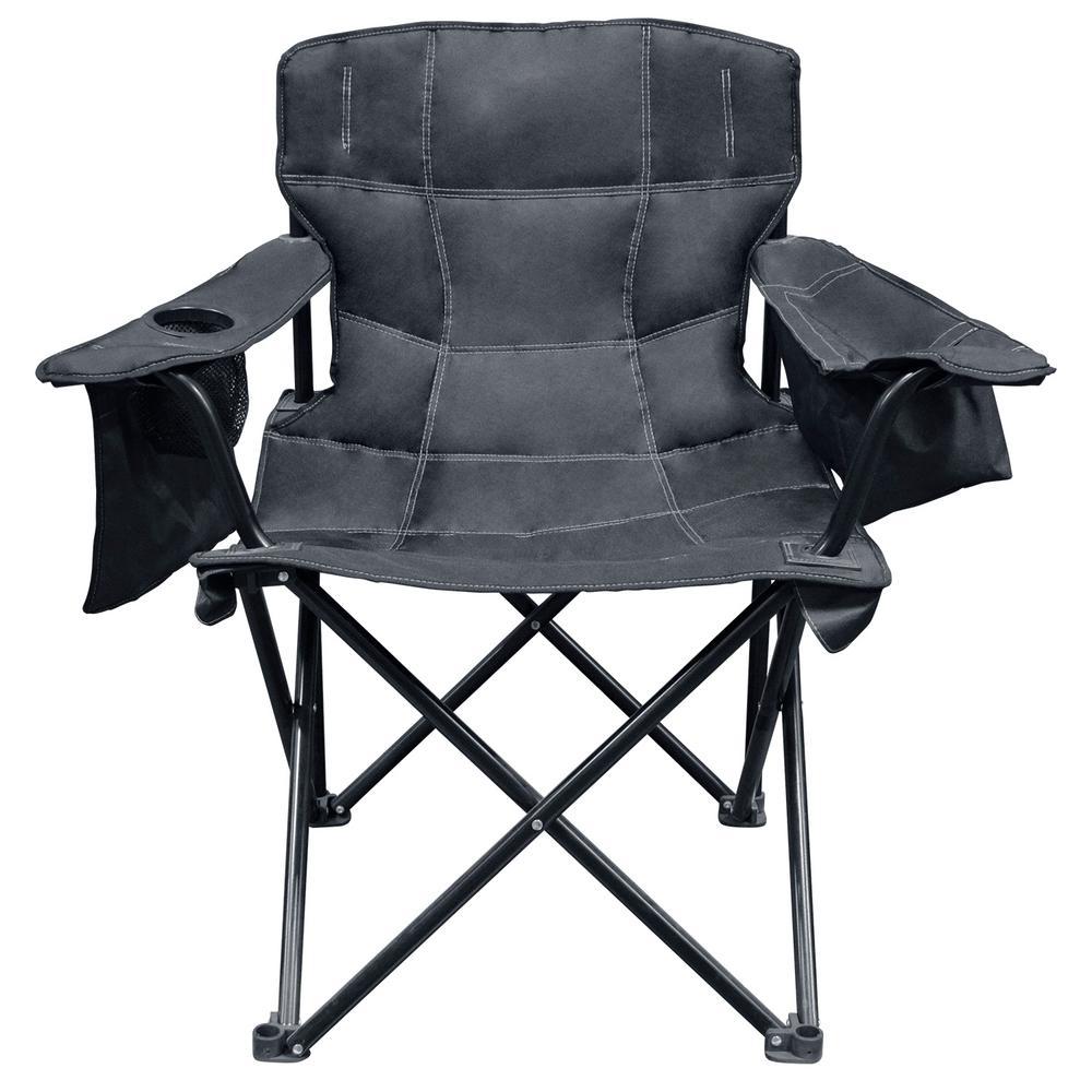 Solid Black Elite Quad Chair