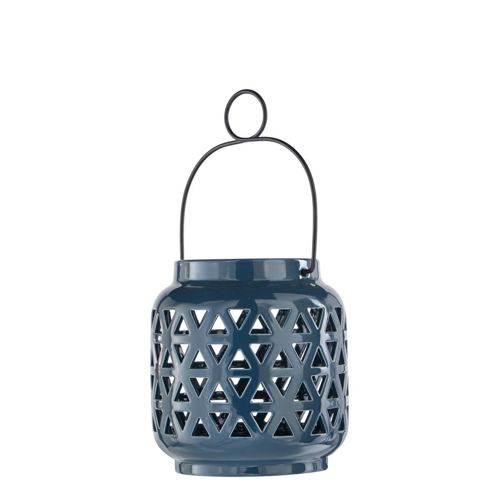 6.5 in. Ceramic Lantern in Charleston