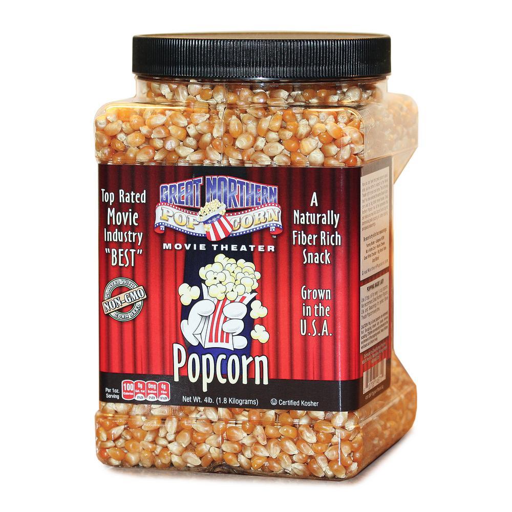 64 oz. Premium Yellow Gourmet Popcorn Jug
