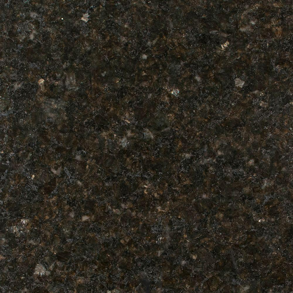 Dark Brown Granite Colors : Stonemark granite in countertop sample