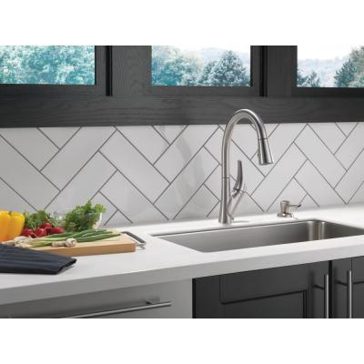 Rochester Single-Handle Pull-Down Sprayer Kitchen Faucet with ShieldSpray Technology in SpotShield Stainless