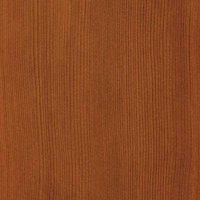 4 in. x 3 in. Wood Garage Door Sample in Light Cedar with Cedar 077 Stain