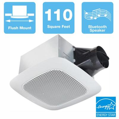 Signature Series 9 CFM Ceiling Bathroom Exhaust Fan with Bluetooth  Speaker, ENERGY STAR