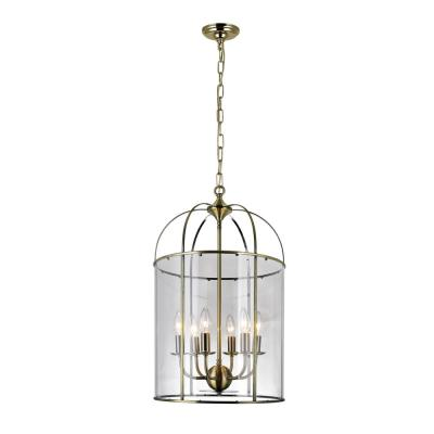 Kalu 6-Light Antique Bronze Chandelier