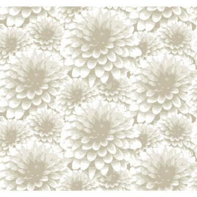Umbra Beige Floral Wallpaper