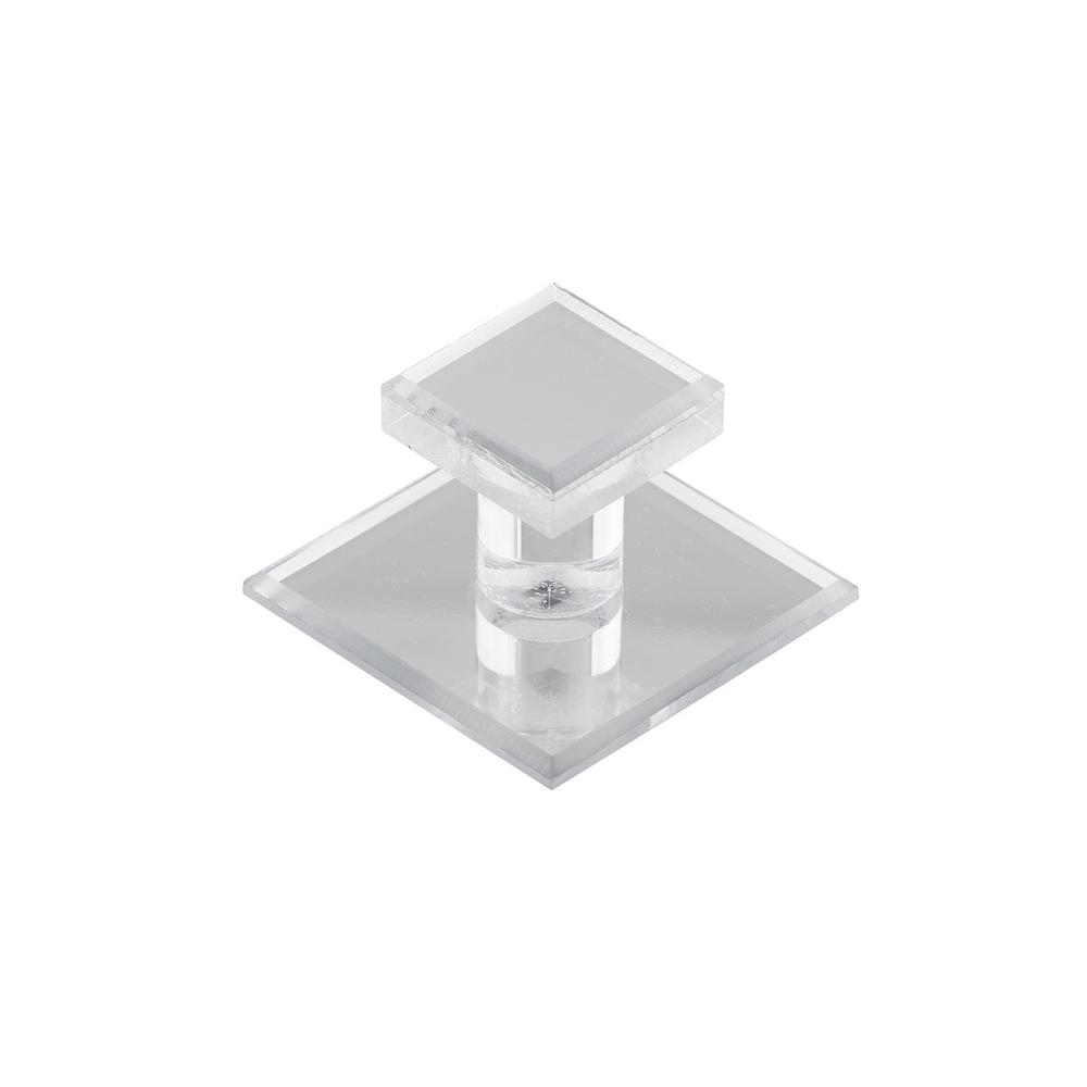 Richelieu Hardware 1-25/32 in. Mirror Effect Square Knob Enhance the appearance of your furniture and home decor with this contemporary knob by Richelieu. Features a trendy finish and an elegant square-shaped design. Mounting hardware included for easy installation.