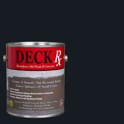Deck Rx 1 gal. Midnight Green Wood and Concrete Exterior Resurfacer