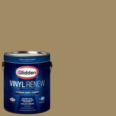 1 gal. #HDGY26 Khaki Moss Low-Lustre Exterior Paint with Primer