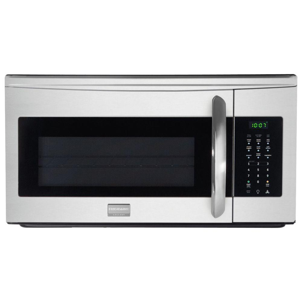 Frigidaire 30 in. W 1.7 cu. ft. Over the Range Microwave in Stainless Steel with Sensor Cooking-DISCONTINUED