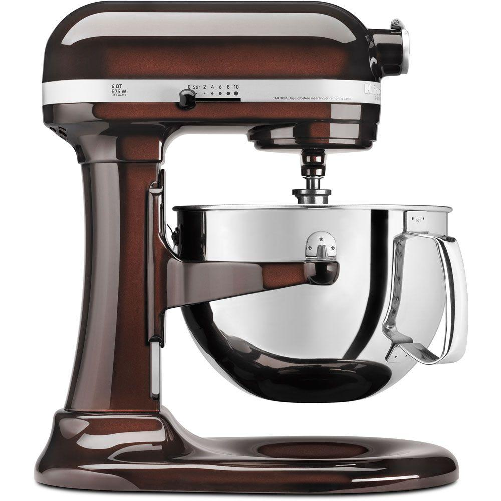 Kitchenaid Professional 600 Series 6 Qt Espresso Stand Mixer