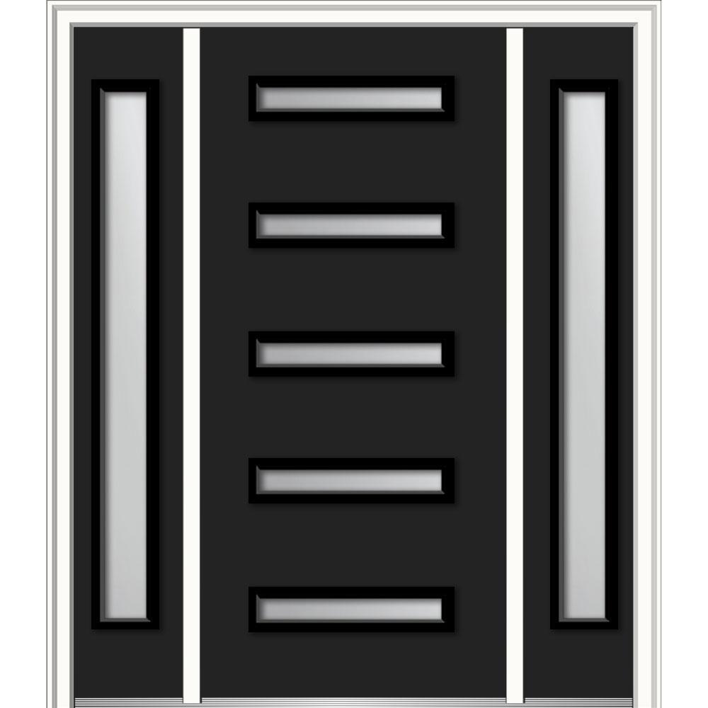 Doors With Glass Steel Doors The Home Depot Custom Exterior Door Width Set Painting