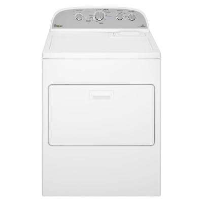 7.0 cu. ft. 120-Volt White Gas Vented Dryer with AccuDry, Steam Refresh