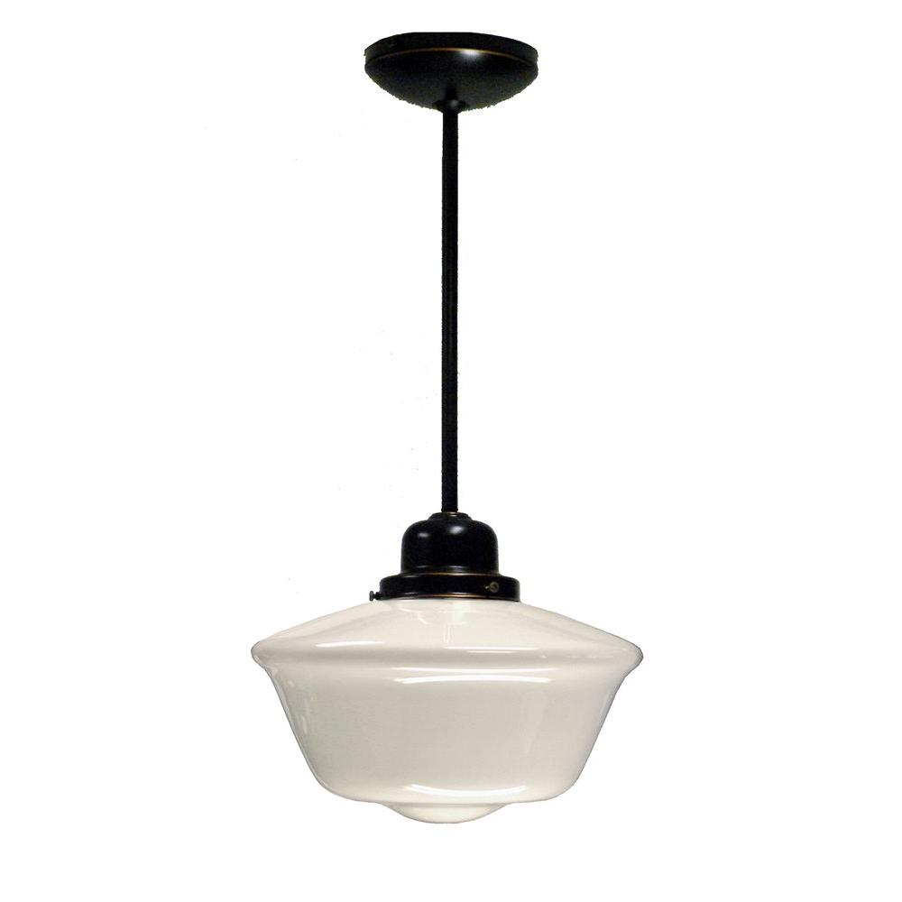 Marquis Lighting Amya 1-Light Oil-Rubbed Bronze Pendant
