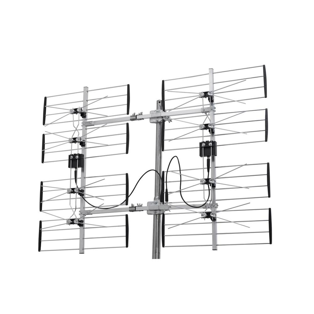 digiwave 8 bay ultra clear digital outdoor tv antenna ant7285 the rh homedepot com