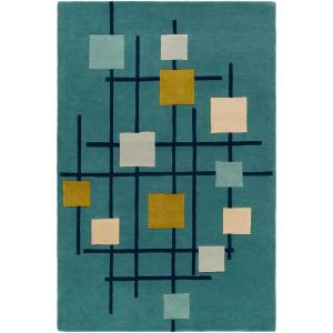 Artistic Weavers Tellis Teal 2 ft. x 3 ft. Accent Rug by Artistic Weavers