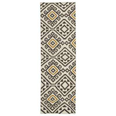Nomad Charcoal 2 ft. 6 in. x 8 ft. Runner