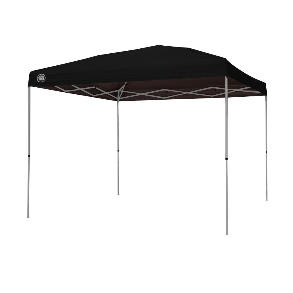 Shade Tech ST100 10 ft. x 10 ft. Instant Patio Canopy in Black-157464 - The Home Depot  sc 1 st  The Home Depot : shade tech 10x10 instant canopy - memphite.com