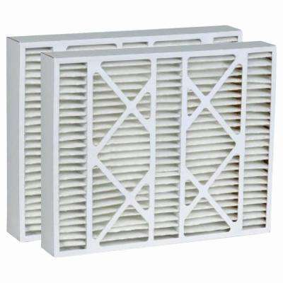 19 in. x 20 in. x 4-1/4 in. Micro Dust Merv 8 Replacement Air Filter for Carrier (2-Pack)