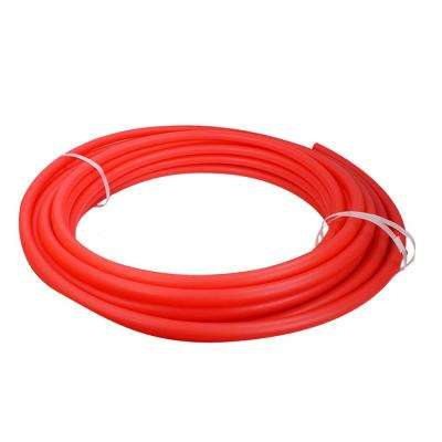 1/2 in. x 100 ft. PEX Tubing Oxygen Barrier Radiant Heating Pipe in Red