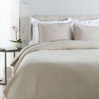 Ellenora Light Gray King/CA King Duvet Set