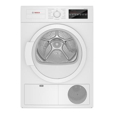 300 Series 4 cu. ft. 240-Volt White Stackable Electric Ventless Condensate Compact Dryer, ENERGY STAR