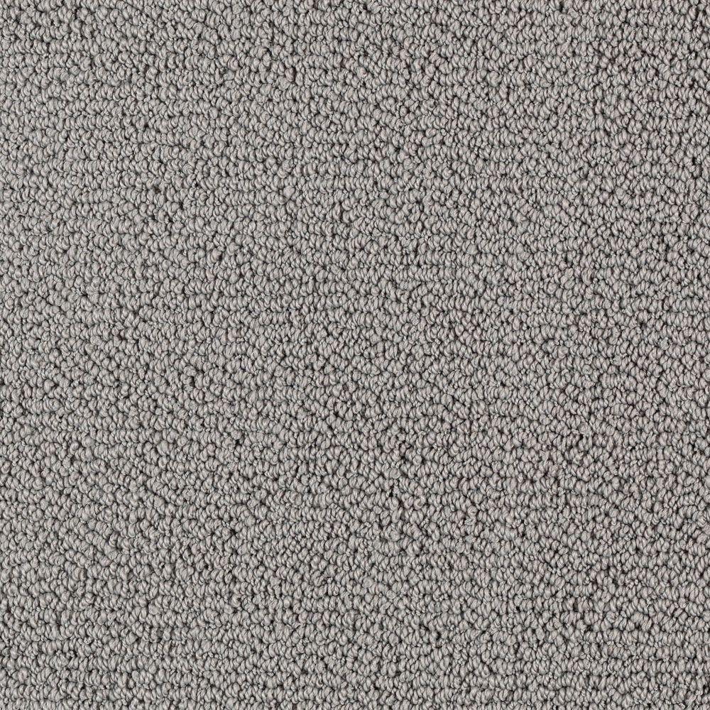 Platinum Plus High Plains (Solid) - Color Morning Rain 12 ft. Carpet