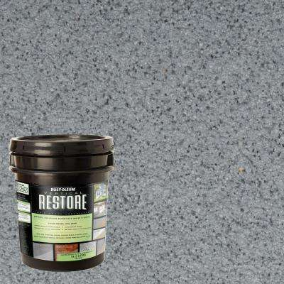 4-gal. Slate Vertical Liquid Armor Resurfacer for Walls and Siding