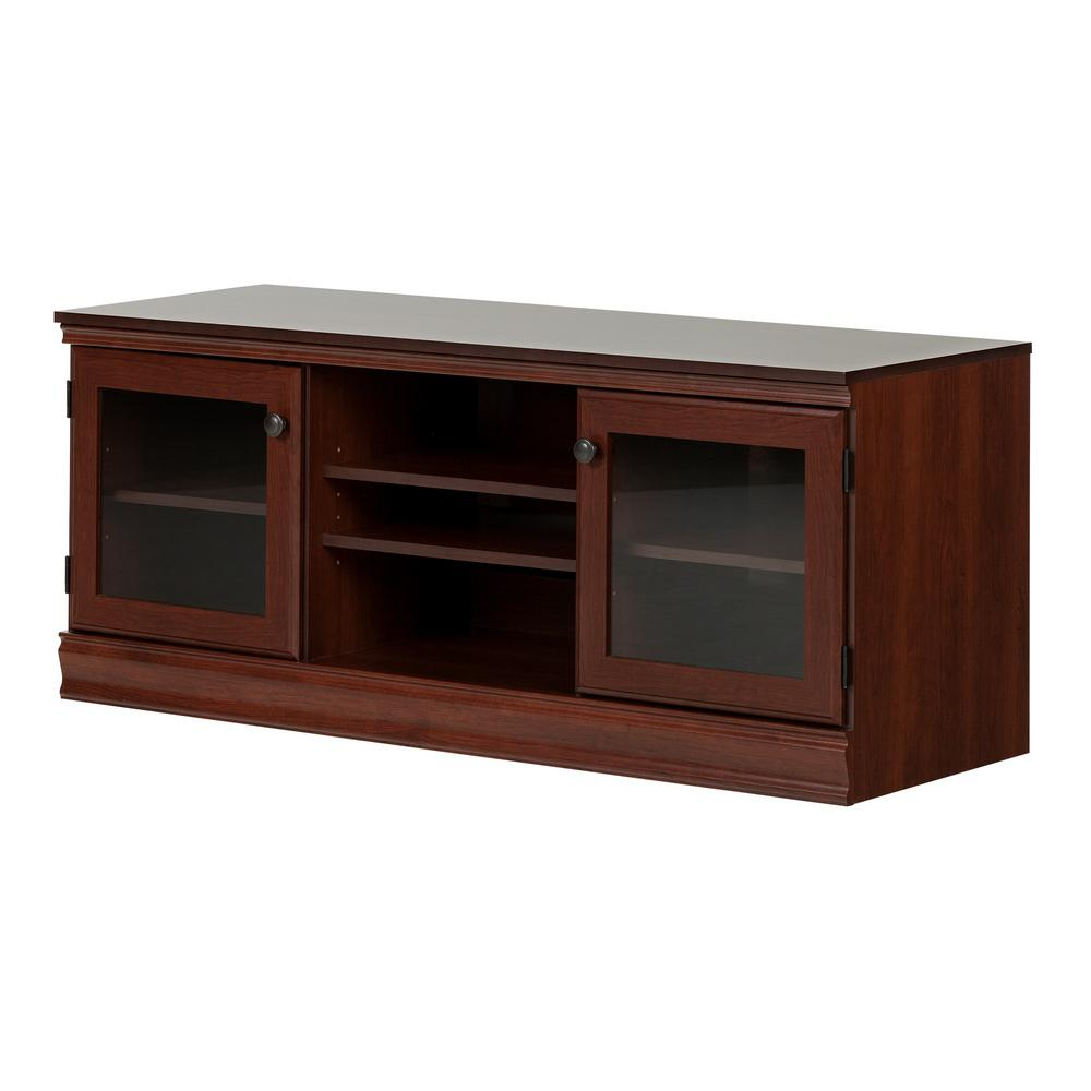 South Shore Morgan Royal Cherry Tv Stand For Tvs Up To 75 In 10533