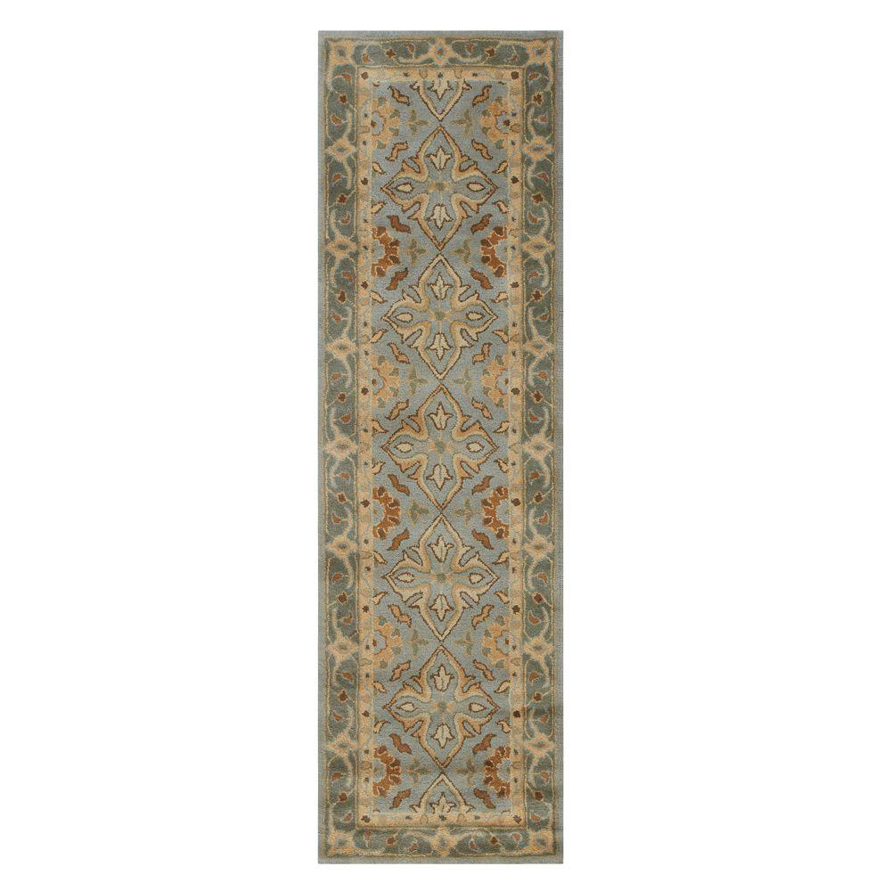 Home decorators collection tudor porcelain 2 ft 3 in x for Home decorators rug runners