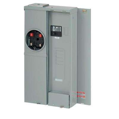200 Amp 4-Space 8-Circuit EUSERC BR Type Main Breaker Meter Breaker Ranch Panel