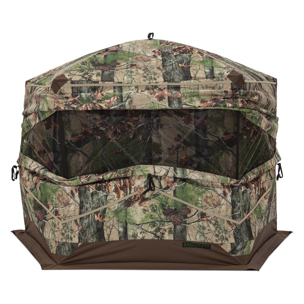 OX 5 3 Person Pop-Up Hunting Blind Backwoods in Camo