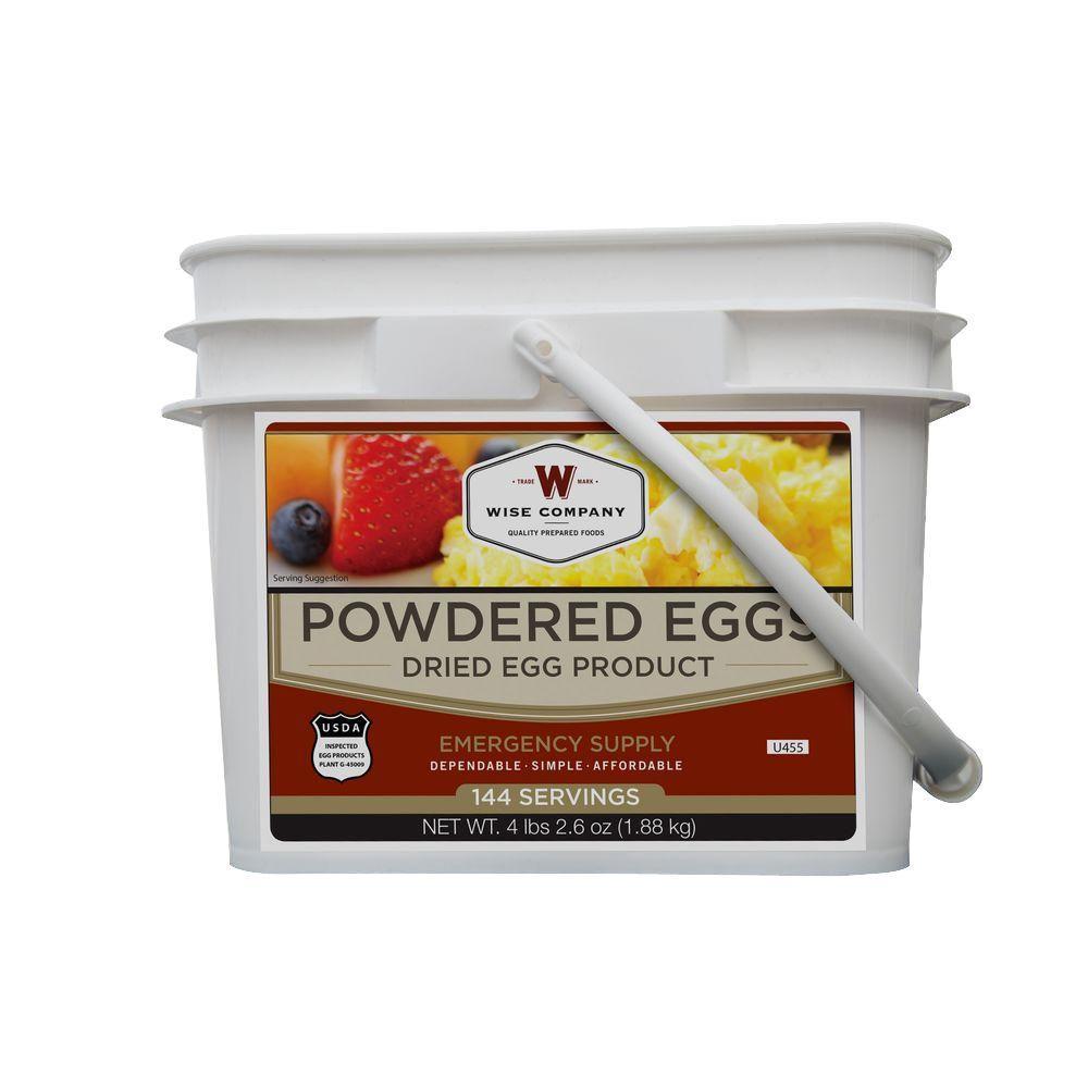 144 Servings of Long Term Storage Eggs
